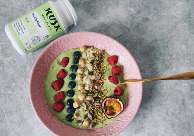glutenfri smoothiebowl