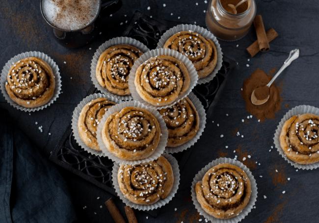 Goda glutenfria kanelbullar med Fiber Husk